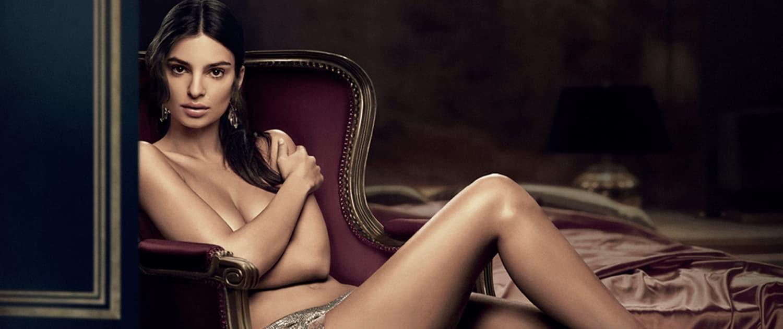 Emily Ratajkowski para paco rabanne perfume pure xs campaña de lanzamiento